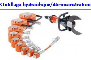 Outillage hydraulique desincarceration